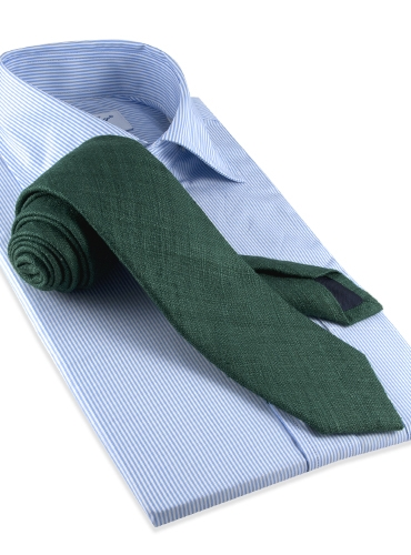 Shantung Silk Solid Tie in Bottle