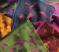 Wool & Silk Pointer Pocket Squares
