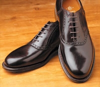 The Alden Saddle Shoe in Cordovan