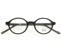 Children's Small Round Frame in Black