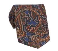 Silk Print Paisley Tie in Persian