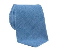 Shantung Silk Solid Tie in Cornflower