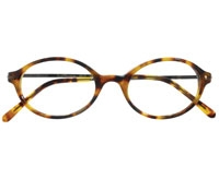 Oval Frame in Blonde