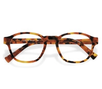 Bold Rounded Square Frame in Tortoise