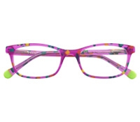 Slim Rectangular Children's Frame in Bubblegum Pink
