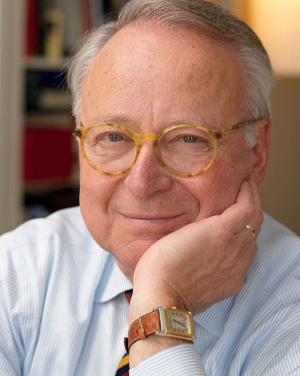 Bob Prenner in his iconic demi-blonde tortoise frames