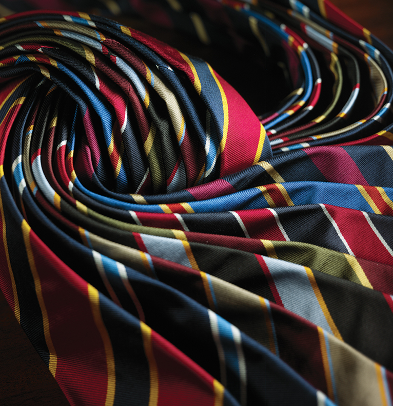 Our Regimental Ties-Always in Style