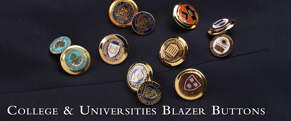 College Blazer Buttons
