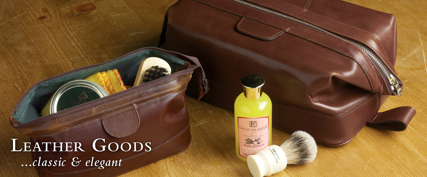 Leather Goods...practical and elegant