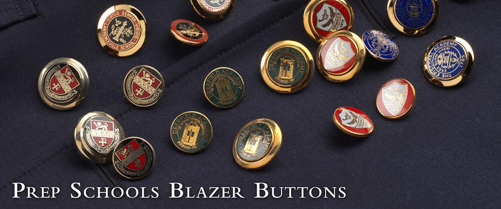 Prep School Blazer Buttons
