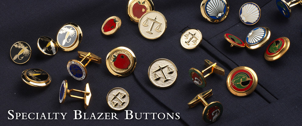 Specialty Blazer Buttons