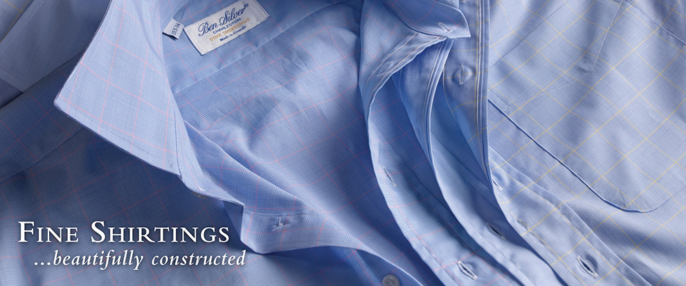 Fine Shirtings...beautifully constructed