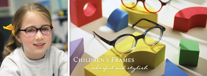 Children's Frames...colorful and stylish.