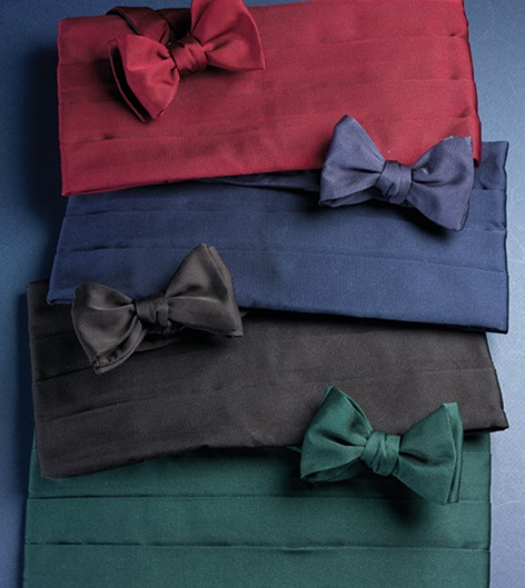 Cummerbund & Bow Tie Sets