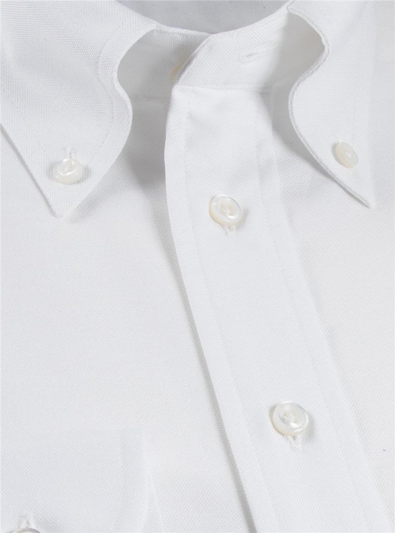White Oxford Button Down