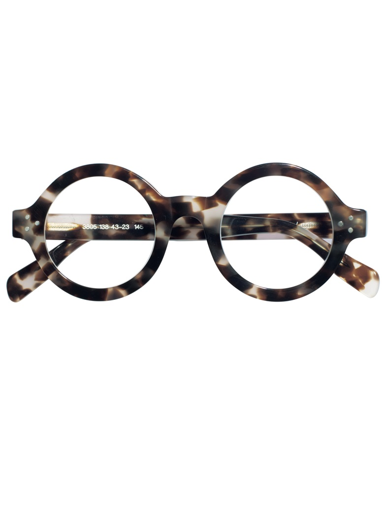 Stylish Bold Frame in Smoke Tortoise