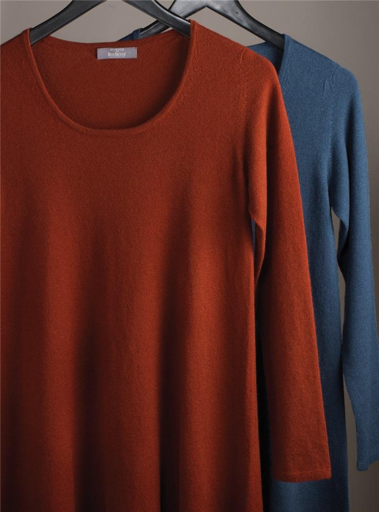 Ladies Cashmere Sweater Dresses