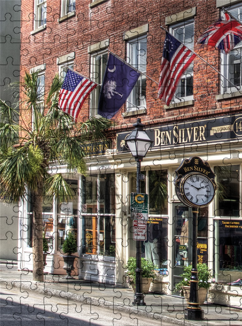 The Historic Ben Silver Storefront Puzzle