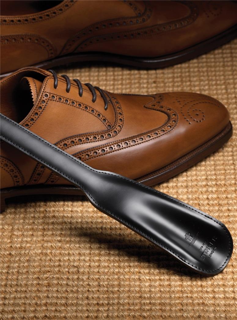 Bridle Leather Shoe Horns