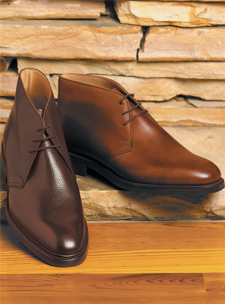 The Brecon Chukka Boot in Dark Brown