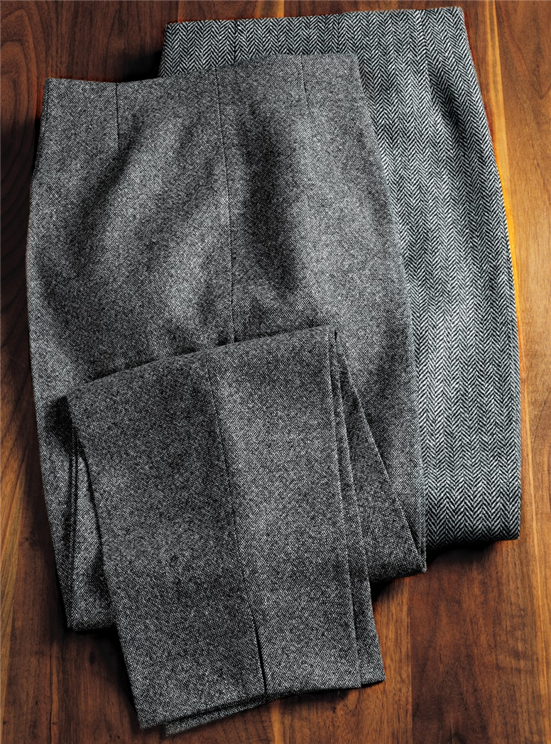 Ladies Wool Donegal Pants