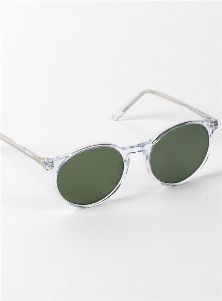 Pantheon Sunglasses in Crystal