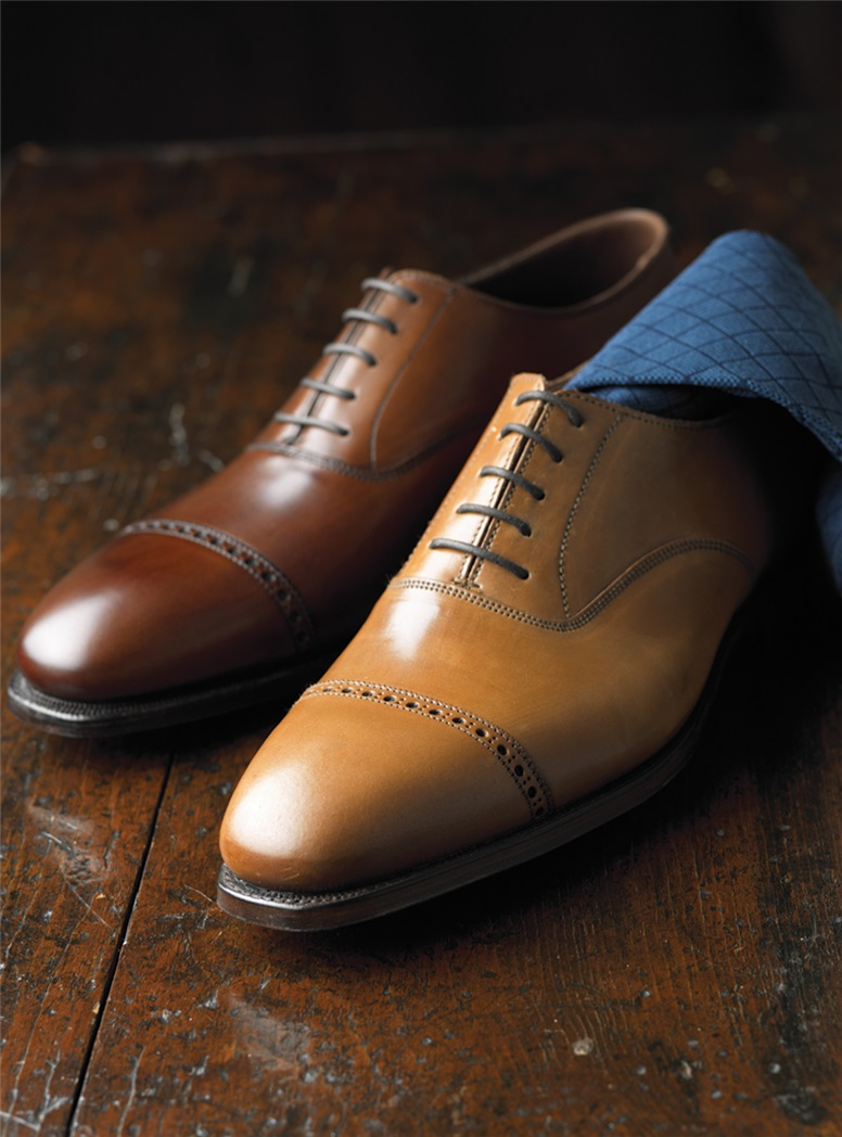 The Belgrave Oxford in Whiskey Cordovan