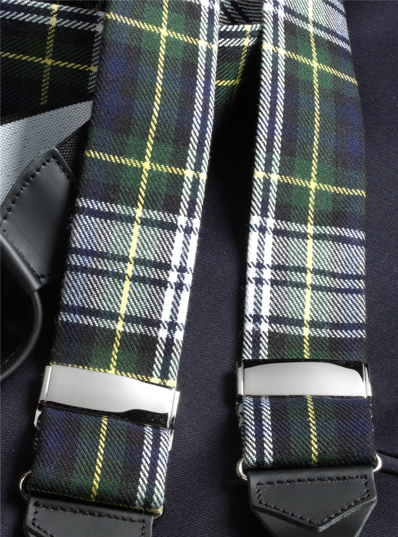 Wool Gordon Tartan Braces
