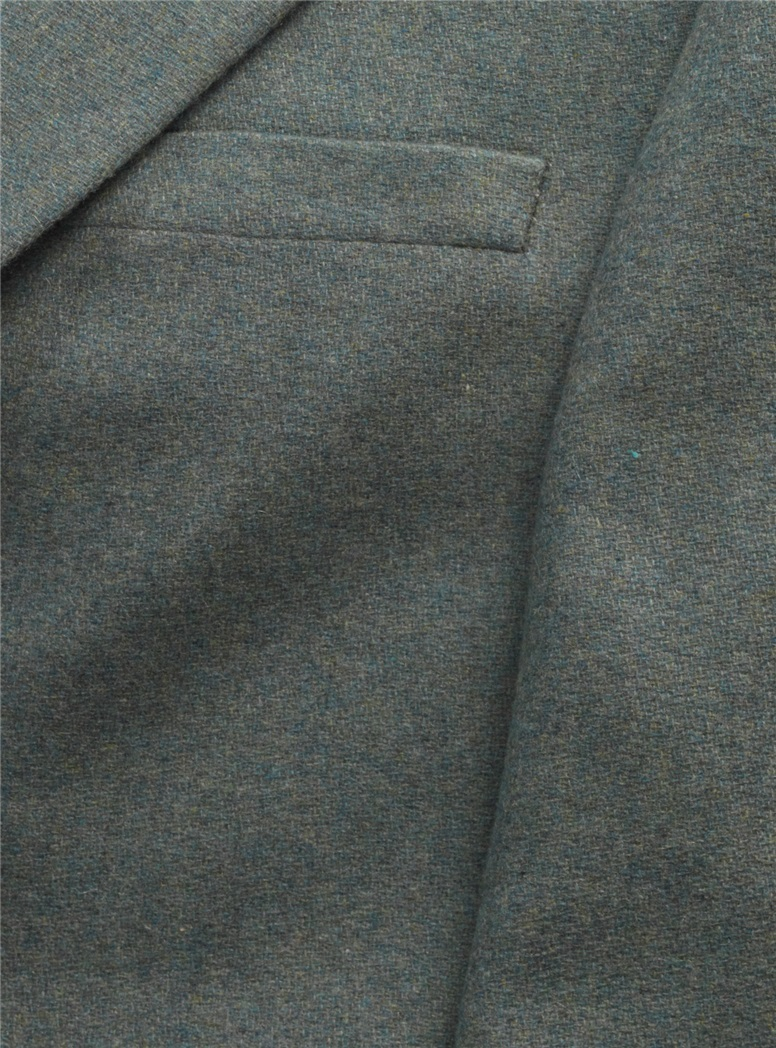 Cashmere Aqua Melange Jacket
