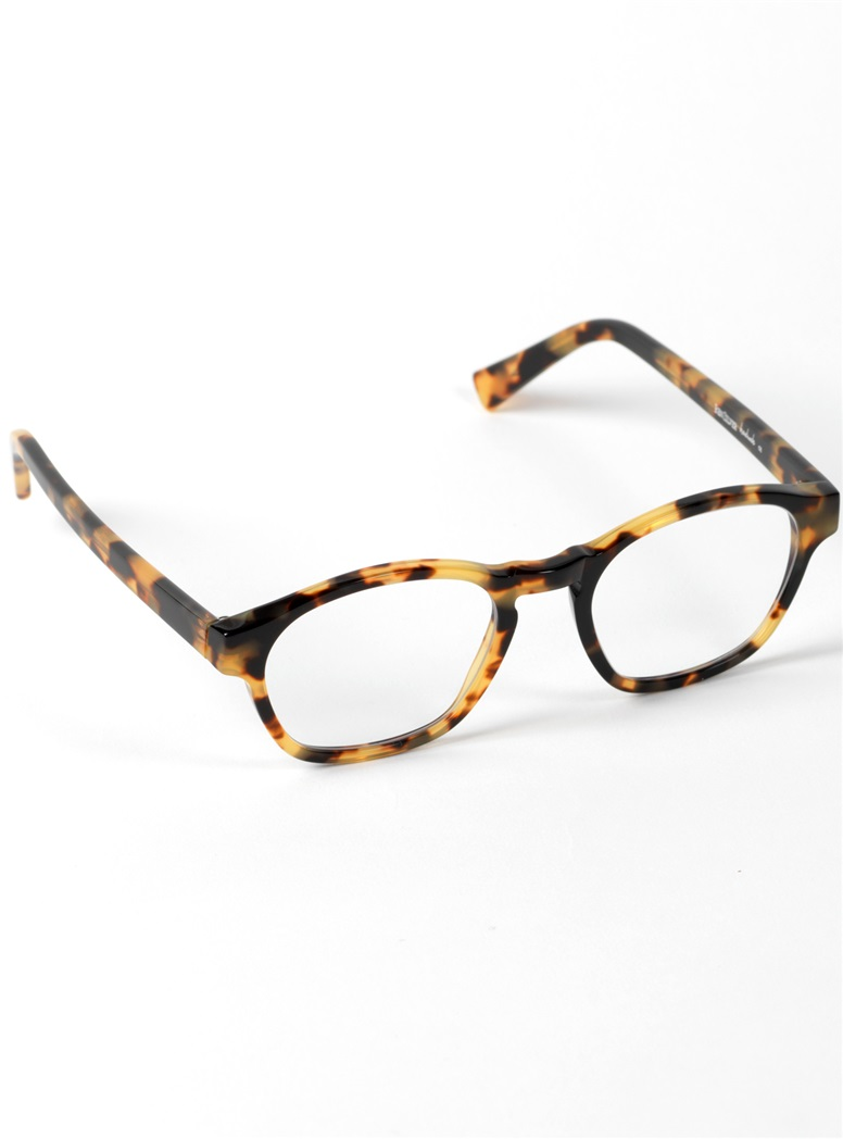 Bold Rounded Square Frame in Tokyo Tortoise