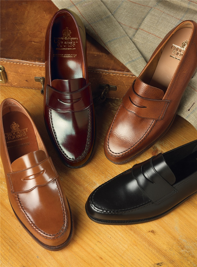 The Harvard Loafer in Whiskey Cordovan