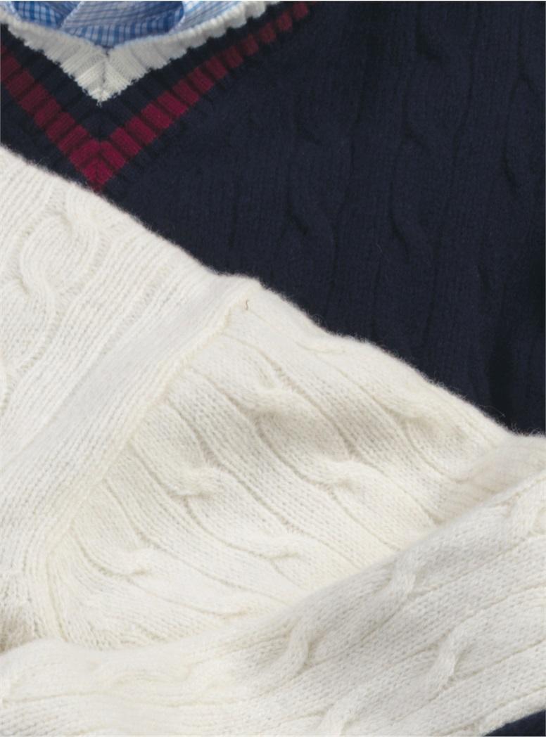 Lambswool Tennis Sweaters