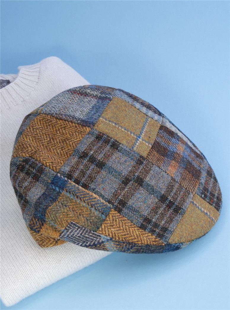 Wool Patchwork Glen Cap