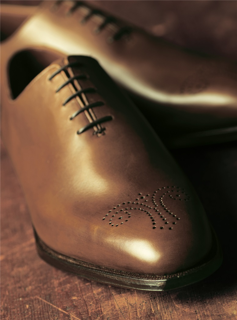 The Weymouth Oxford in Tan