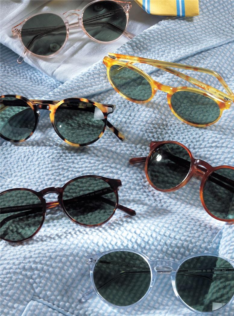 Pantheon Sunglasses in Demi-Blond