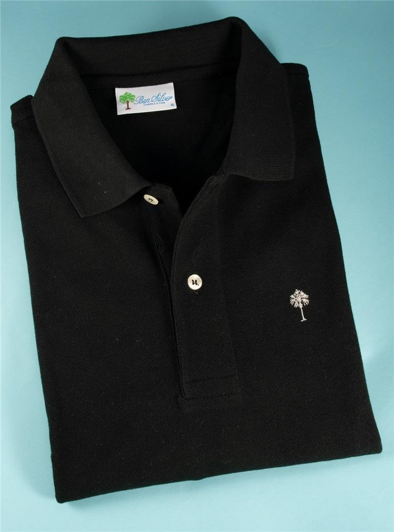 Overstock Ben Silver Palmetto Polo Shirts