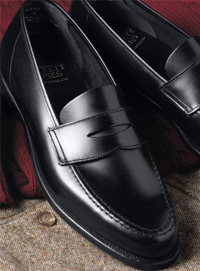 The Harvard Loafer in Black