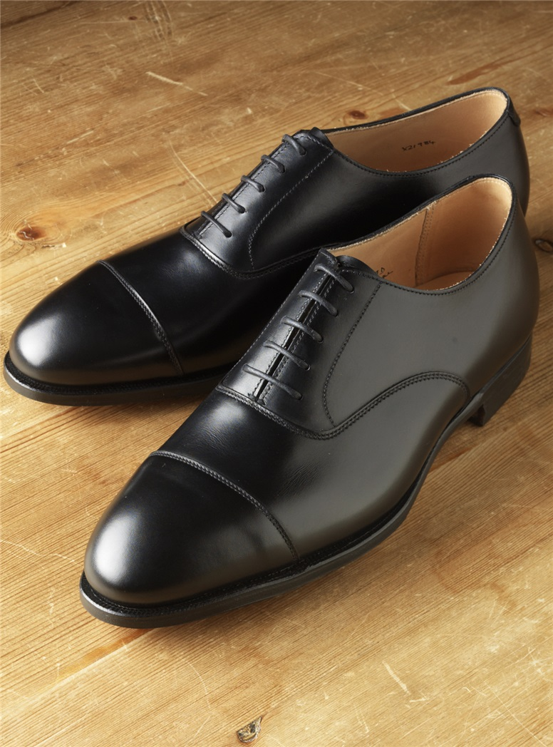 The Whitehall Oxford in Black