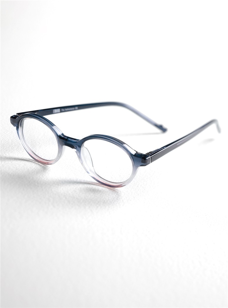 Children's Two-Tone Frame in Navy and Pink