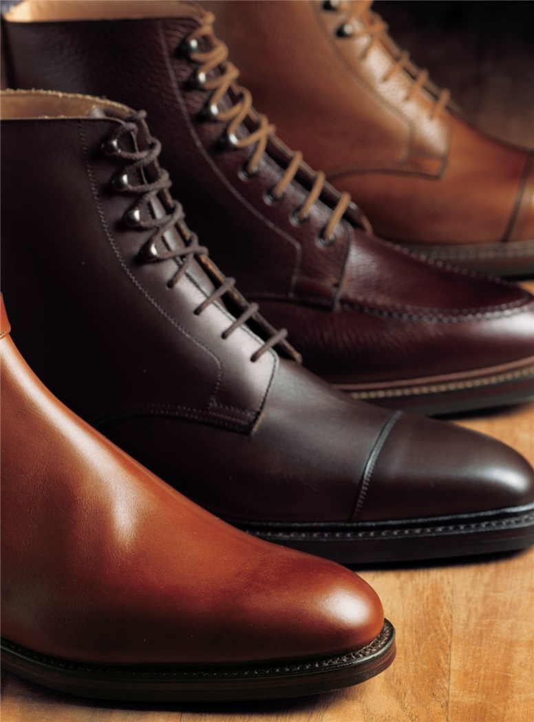 The Northcote Boot in Dark Brown