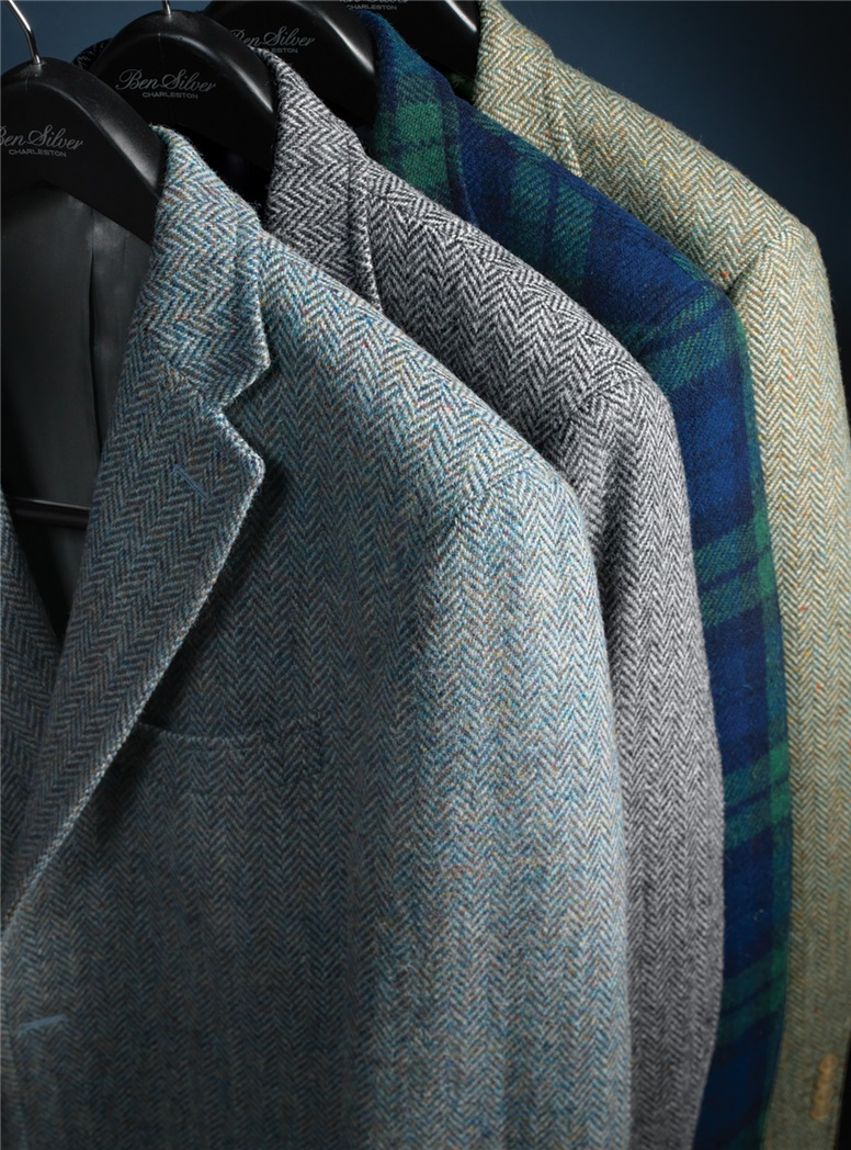 Black Watch Harris Tweed Sport Coat