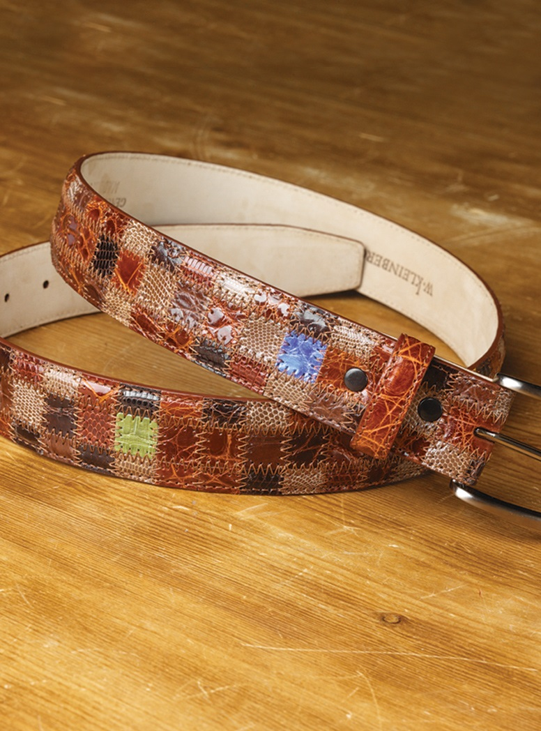Exotic Patchwork Belt