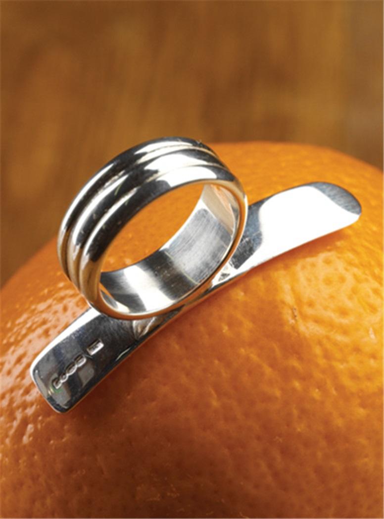 Sterling Silver Orange Peeler