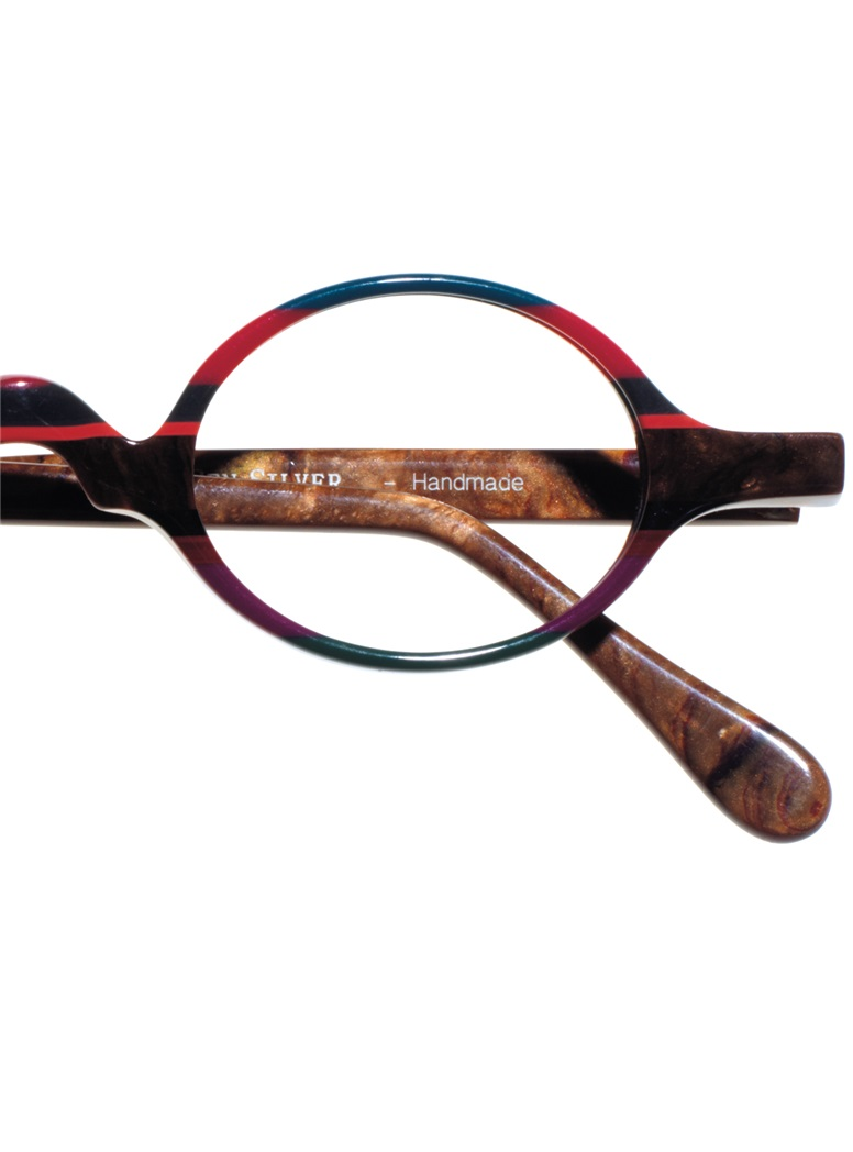 Multi-Colored Handmade Frame in Pink and Brown