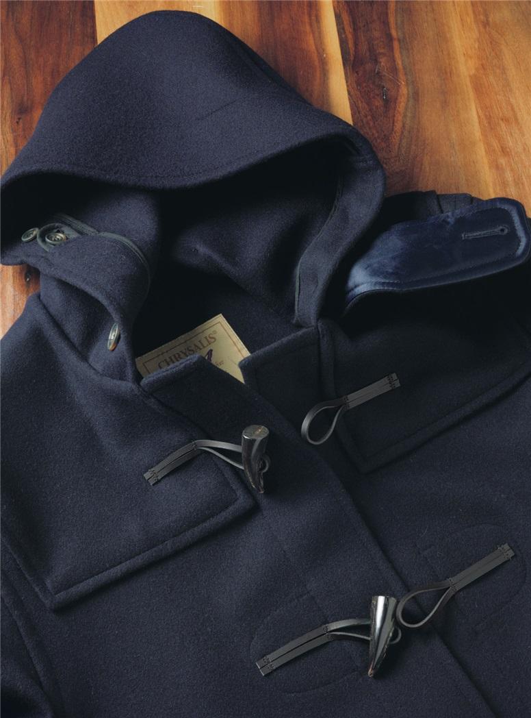Classic Wool Duffle Coat