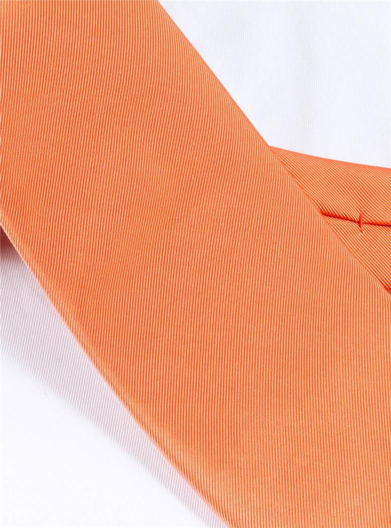 Mogador Solid Tie in Orange