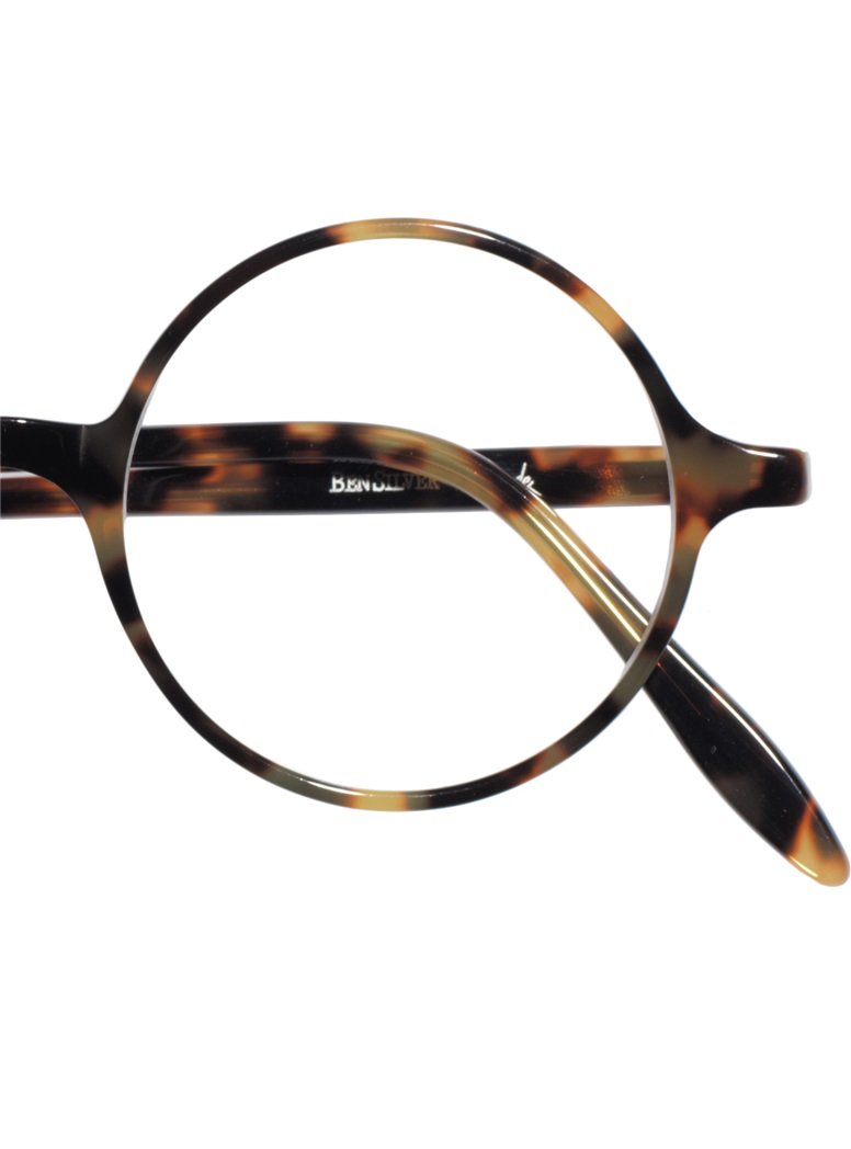 Slender Round Frame in Light Tortoise