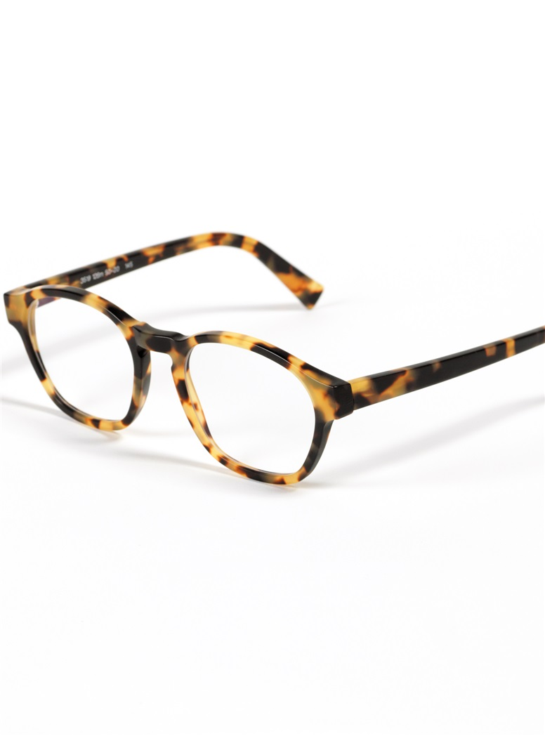 Bold Rounded Square Frame in Matte Tokyo Tortoise