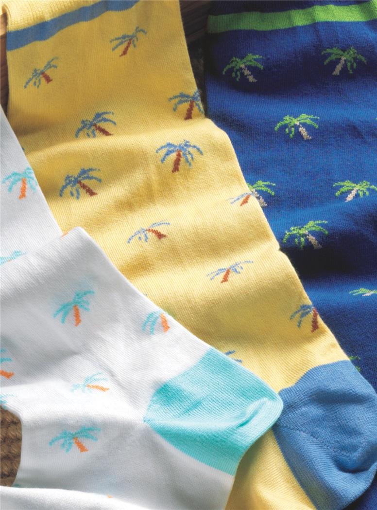 Palmetto Tree Socks
