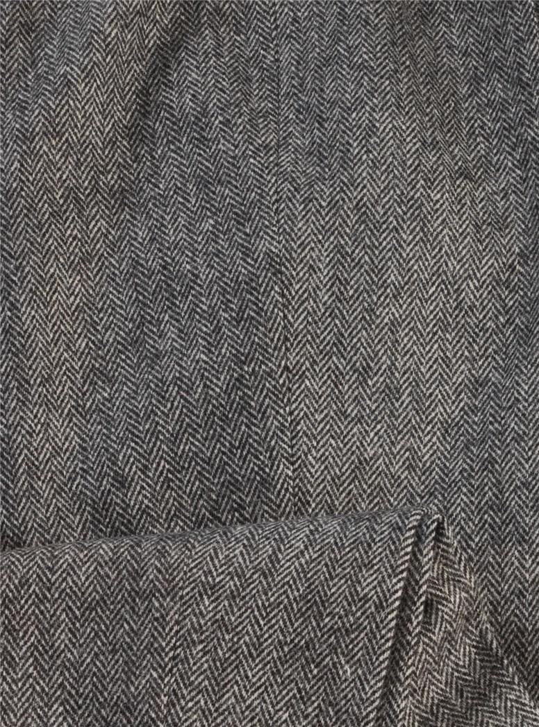 Ladies Wool Herringbone Pants